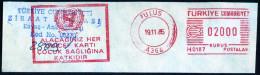 Machine Stamps (ATM) Red Special Cancels ULUS 19.11.85 (#12) - 1921-... République