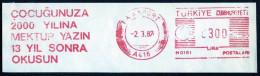 Machine Stamps (ATM) Red Special Cancels PASAPORT 2.3.87 (#11) - 1921-... République