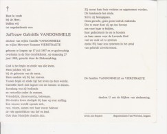 Gabriëlle Vandommele (1907-1988) - Images Religieuses