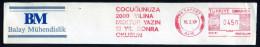 Machine Stamps (ATM) Red Special Cancels PASAPORT 16.2.87 (#7) - 1921-... République