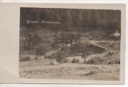 Nr.  1522,  FOTO-AK,  Ojtoztal,  Birkenbrücken, Rumänie, Karpaten, 1917 - Roumanie