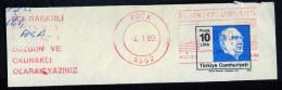 Machine Stamps (ATM) Red Special Cancels FOCA 4.1.89 (#3) - 1921-... République