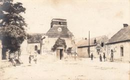 Photocarte Allemande-La Malmaison- Eglise Soldats Allemand- Sissonne,ST Erme,Magnivillers,Dép 02(g Uerre-14)2scans - France