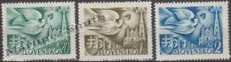 Slovakia - Slovaquie 1942 Yvert 74-76 1st European Postal Congress - MNH - Nuevos