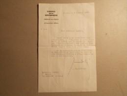 Autographe De Jean BERTHOIN Rapporteur General Du Budget Au Sénat (16) - Autographs