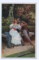 Cpa  Küssen Ist Keine Sünd / Embrasser N'est Pas Un Péché ! 1918    ( 1543 ) - Couples