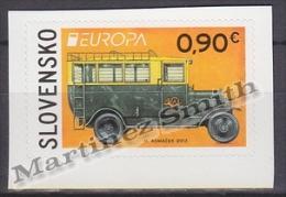 Slovakia - Slovaquie 2013 Yvert 617 Europa Cept. Postal Vehicle, Adhesive - MNH - Slovakia