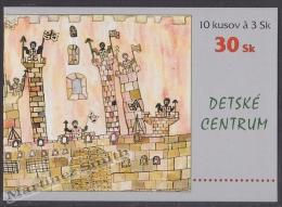 Slovakia - Slovaquie 1998 Yvert C268 Childrens Centre - Booklet - MNH - Nuevos