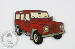 Fireman/ Firefighter 4x4 Red Car - Sapeurs Pompiers - Signed: Club Des Pompiers Paris - Pin Badge #PLS - Bomberos