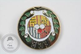 Barcelona, Catalonya F.C.B. Petanque Club -  Pin Badge #PLS - Pin
