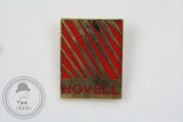 Novell Trademark Advertising - Pin Badge #PLS - Marcas Registradas