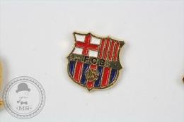 F.C. Barcelona Football Team Logo - Pin Badge #PLS - Fútbol
