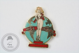 Pin Up Girl Miss Monde Signed Demons & Mervelles - Enamel Pin Badge #PLS - Pin-ups