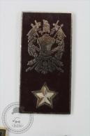 Italian Army/ Military, Signed F.M.C. Napoli - Pin Badge #PLS - Militares