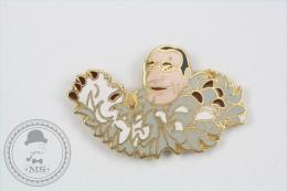 Groucho Marx, Signed Julia Production Stadium Paris - Pin Badge #PLS - Pin