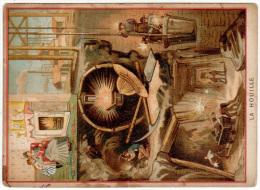 La Houille ( Charbon, Mine, Mineur ) - Chromos