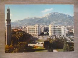 GRENOBLE (38). TOUR DE L´EXPOSITION ET LE PARC PAUL MISTRAL. ANNEES 1980 - Grenoble