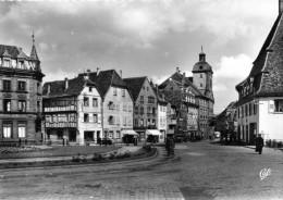-  CPSM  -  67 -  WISSEMBOURG - Vieux Marché Aux Poissons - 970 - Wissembourg