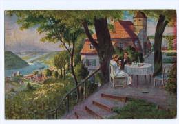 Cpa Ein Schattiges Plâtz Hen 1919  ( 1556 ) - Illustrators & Photographers