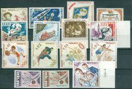 Monaco Lot Of 15 Stamps MNH** - Lot. 3336 - Monaco