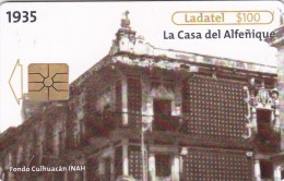 Mexico, 16983, Casa Del Alfeńique. Puebla 1935 1/4., 2 Scans. - Mexiko
