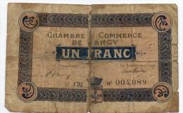 Nancy  - 1 Franc - Cámara De Comercio