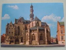 Buitenzicht Van Het Koor - Le Chevet De L'Eglise 13e Eeuw LEAU / ZOUTLEEUW / Anno 19?? ( Zie Foto Voor Details ) !! - Zoutleeuw