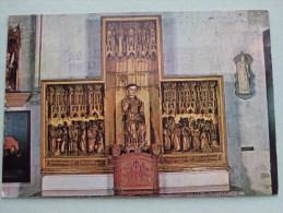 St. Leonardus Retabel 1478 Altar LEAU / ZOUTLEEUW / Anno 19?? ( Zie Foto Voor Details ) !! - Zoutleeuw