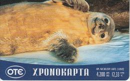 GREECE - Seal, OTE Prepaid Card 4200 GRD/12,33 Euro, Tirage 50000, 06/01, Used - Greece