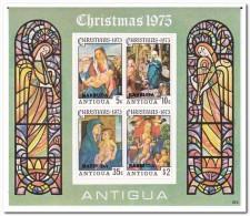 Antigua & Barbuda 1975, Postfris MNH, Christmas, Stained Glass - Antigua En Barbuda (1981-...)