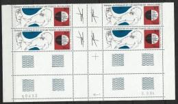 """TAAF Coins Datés Aerien YT 89 """" Antarctique """" Neuf** Du 3.9.84 - Autres"""