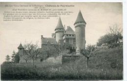 CPA 24 CHATEAU DE PUYMARTIN - France
