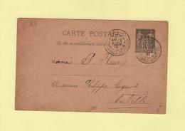 Paris 82 - R. Des Francs Bourgeois - 2 Nov 1891 - Marcophilie (Lettres)