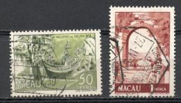 China Chine : (6135) 1950 Macau Macao - Vues De Macao (2ème Série) SG433,434(o) - China