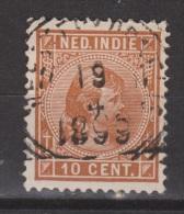 Nederlands Indie Netherlands Indies Dutch Indies Nr. 23 Used ; Koningin, Queen, Reine, Reina Wilhelmina 1892-1897 - Niederländisch-Indien