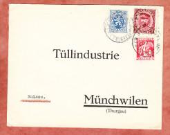 Vordruckbrief, MiF Koenig Albert U.a., Bruxelles Nach Muenchwilen 1934 (70572) - Belgien