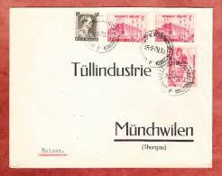 Vordruckbrief, MiF Ausstellung Luettich U.a., Bruxelles Nach Muenchwilen 1939 (70573) - Belgien