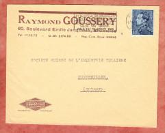 Vordruckbrief, EF Koenig Leopold, MS Bruxelles Nach Muenchwilen 1938 (70575) - Belgien