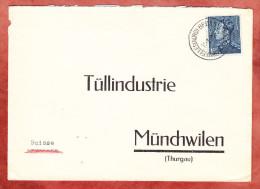Vordruckbrief, EF Koenig Leopold, Bruxelles Nach Muenchwilen 1938 (70576) - Belgien