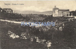 08 ITALY ISERNIA MOLISE HERMITAGE S COSMO YEAR 1913 POSTAL POSTCARD - Autres