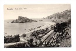 TAORMINA  ISOLA BELLA E CAPO    TRENO - Messina