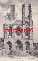 Aisne Soissons Facade De La Cathédrale éditeur Nougarède - Soissons