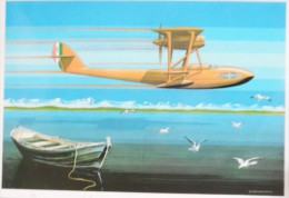 AVIAZIONE CIVILE IDROCORSA SIAI MARCHETTI S 51 LAGO MAGGIORE 1922 RECORD DI VELOCITA' - 1919-1938: Between Wars