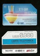 312 Golden - Trottola Se Ti Gira Di Colpire Lire 5.000 30_06_94 Sip - Italia
