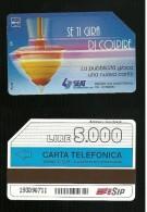 314 Golden - Trottola Se Ti Gira Di Colpire Lire 5.000 31_12_94 Mantegazza Corto 20.5 Mm - Italië