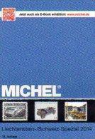 Briefmarken Liechtenstein MICHEL Spezial Katalog 2015 New 32€ Vorläufer Flug-/Militär-Post Belege Ganzsache Catalogue FL - Publicidad