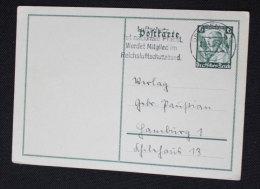 1935 P256 Stamped - Ganzsachen