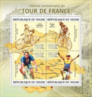 nig13303a Niger 2013 Sport Cycling Tour de France s/s Scott:1190