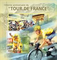 nig13303b Niger 2013 Sport Cycling Tour de France s/s Scott:1215
