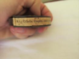 CHARLIE CHAPLIN CHEZ LE MASSEUR 3 FILM PATHE BABY F 3045 9,5 MM